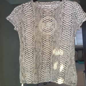 Michael Kors Snakeskin T-shirt